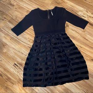 Plenty by Tracy Reece A Line Black Dress Size 4